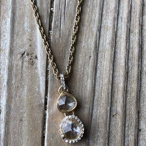🎁 Stunning BNWT Monet Crystal Pendant Necklace!